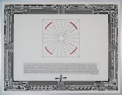 Betekenis van getallen, tekenpen o.i. inkt afm. 50x65 cm.